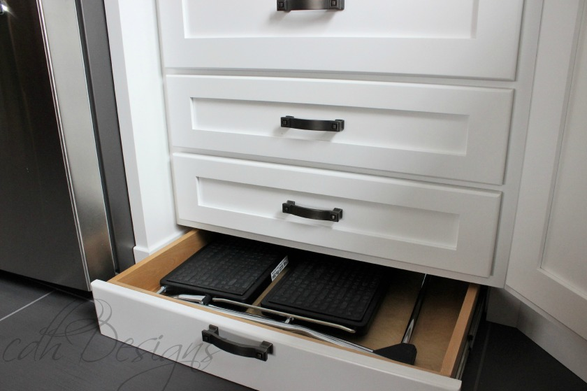 Step Stool Storage