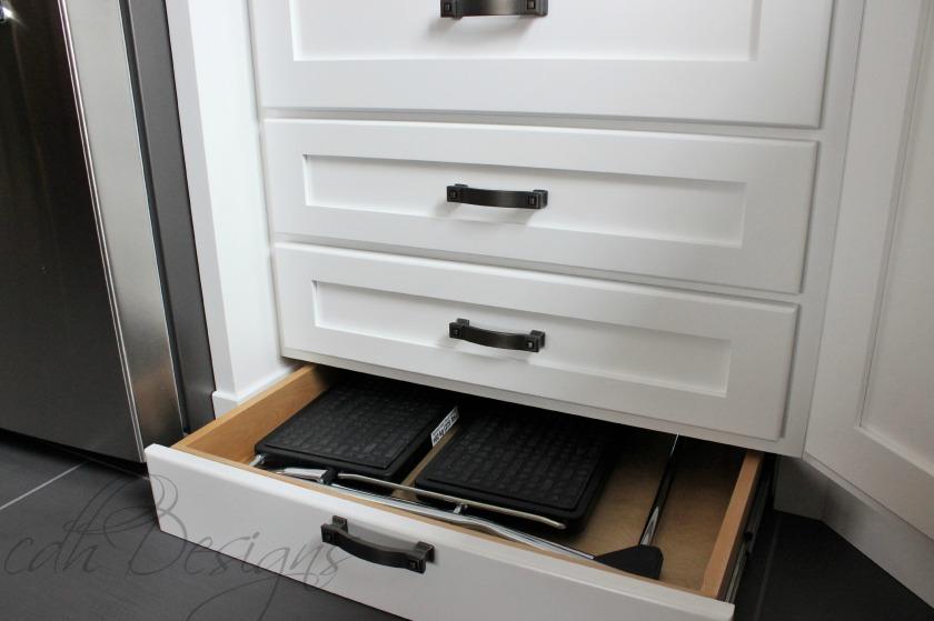 Step Stool Storage
