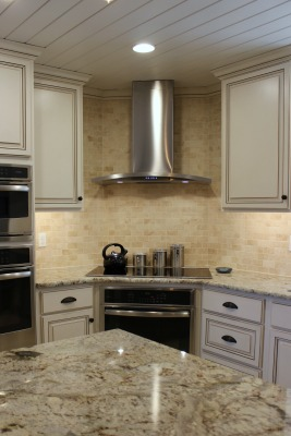 range hood & backsplash